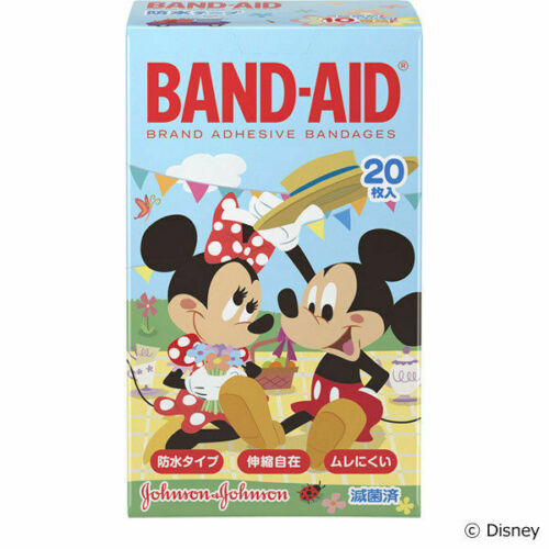 BAND-AID 20 characters of Disney/'s Friends for Kids From Japan