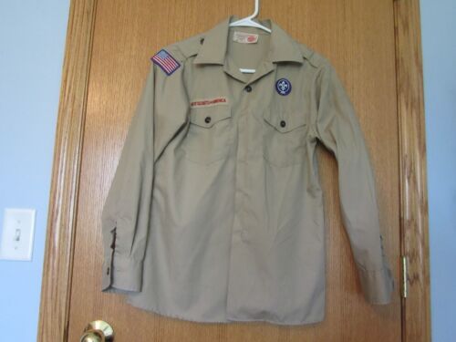 Boy Cub Scouts of America Tan Shirts YOUTH LARGE Your Choice of Style