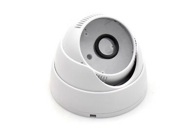Dome Camera Housing ABS Plastic IP Camera Casing For DIY CCTV Surveillance