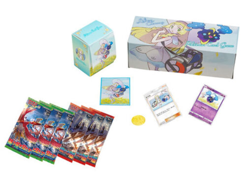 Japanese Lillie and Cosmog Box Pokemon Center Original Sun and Moon Special Set