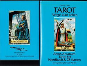 Arcus-Arcanum-Tarot-Set-Handbuch-amp-78-Karten-rar-selten-Sammler-3-908646-01-04