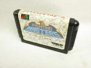 Mega-Drive-FIGHTING-MASTERS-Cartridge-Only-Sega-Import-Japan-Game-mdc