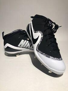 4 5 tamaño 10 Nike Botines blanco Force hombre negro de Trout 001 para béisbol 917837 Zoom RqAFYxwPA