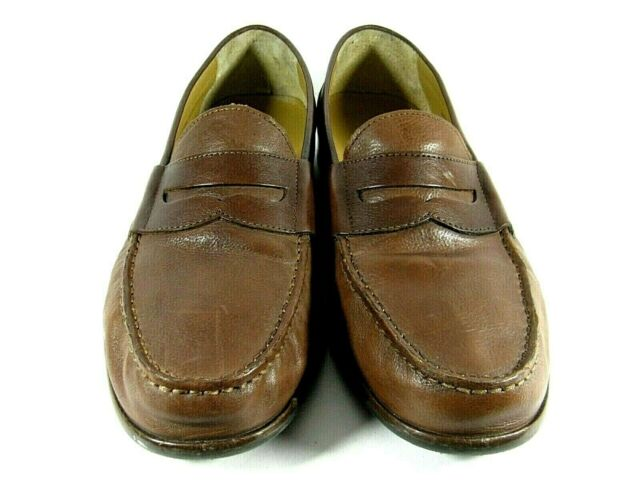 Cole Haan Men's Penny Loafers Shoes Tan Brown Leather Casual Farimont 11M