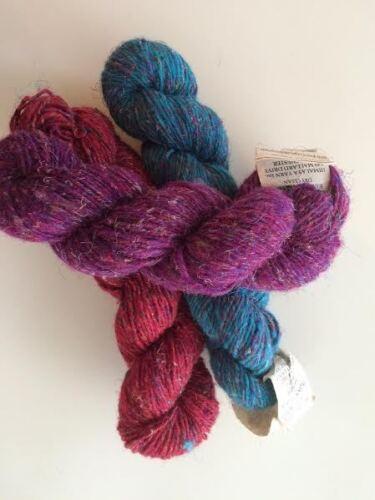 175 yards// skein Himalaya Yarn Tibet Wool Silk 3 Great Colors Gorgeous Yarn