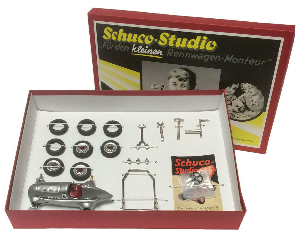 Schuco Studio I Classic Mercedes F1 Construction Kit - Approx. 1 18 Scale