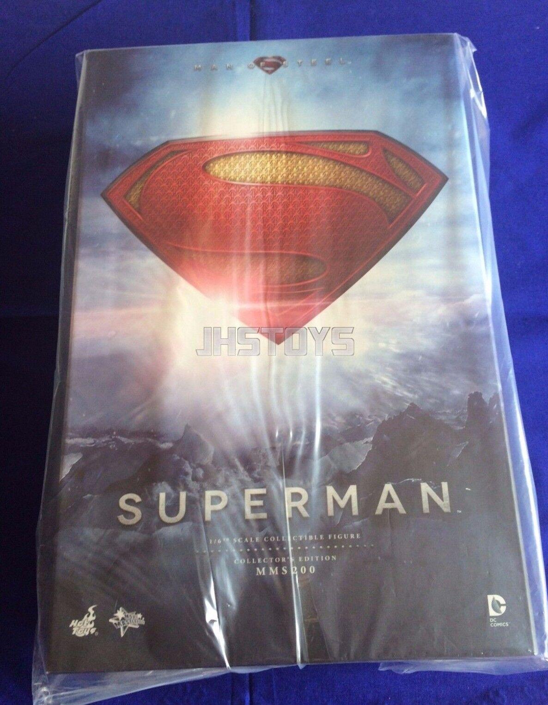 Hot Toys 1/6 Man of Steel Superman Henry Cavill MMS200