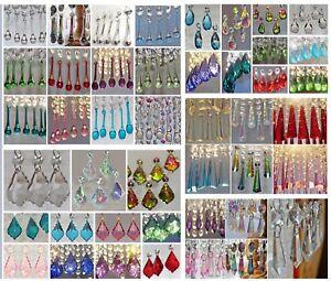 5-Cristales-Gotas-Cuentas-de-Luz-Arana-Prismas-Piezas-Estilo-Vintage-Elementos