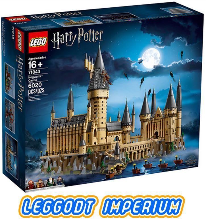LEGO Hogwarts Castle - Harry Potter  nouveau Sealed 71043 Libre POST  plus vendu