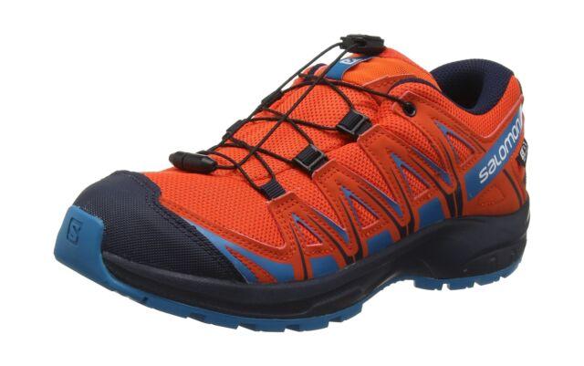 online store fa0a6 d33c1 Salomon Kids XA Pro 3D CSWP J, Trail Running Footwear, Waterproof Red 1 UK