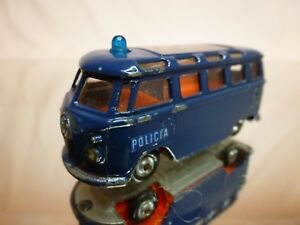 IMPY-LONE-STAR-VW-VOLKSWAGEN-T1-POLICIA-POLICE-BLUE-1-59-GOOD-CONDITION