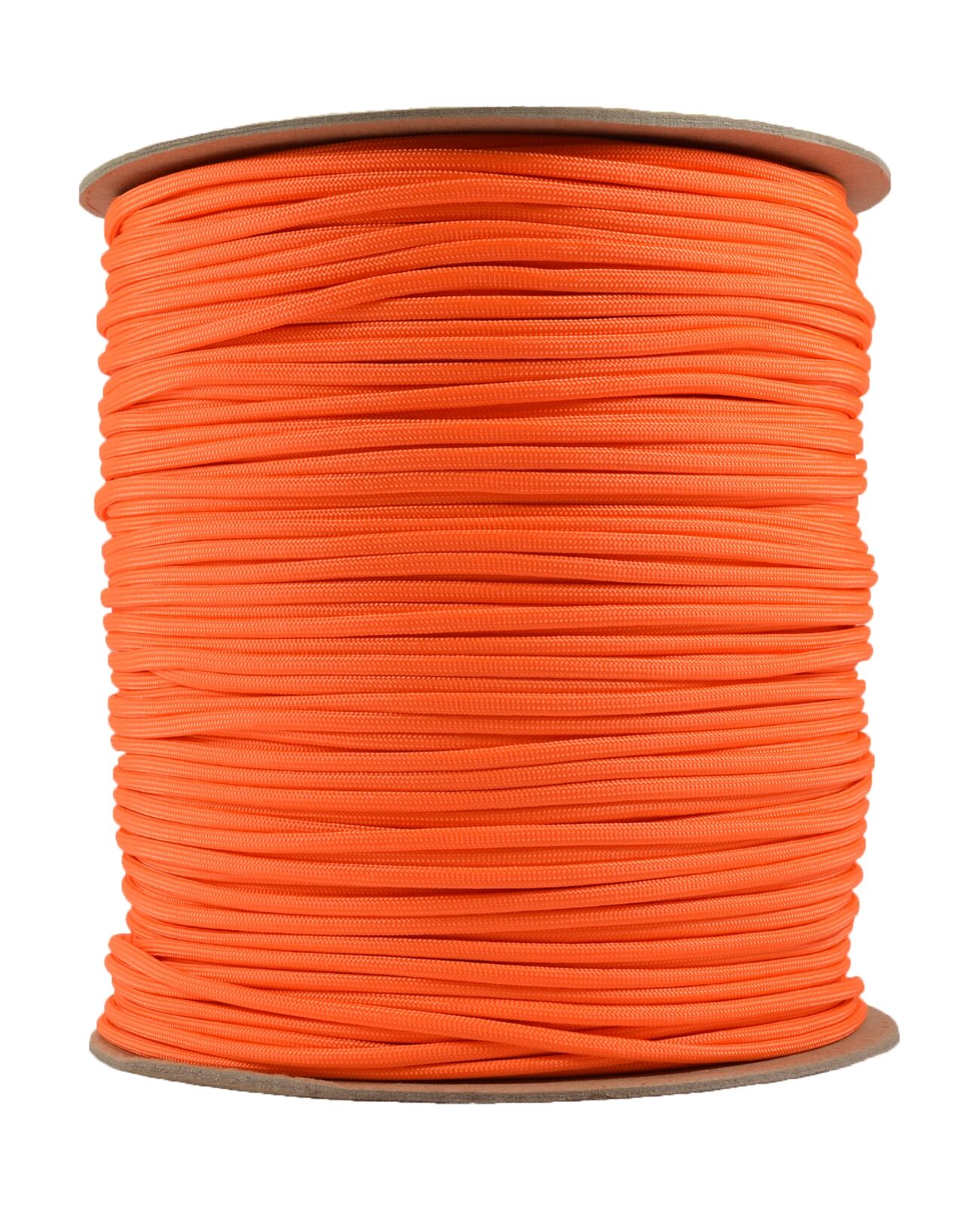 Neon orange - 550 Paracord Rope 7 strand Parachute Cord - 1000 Foot Spool