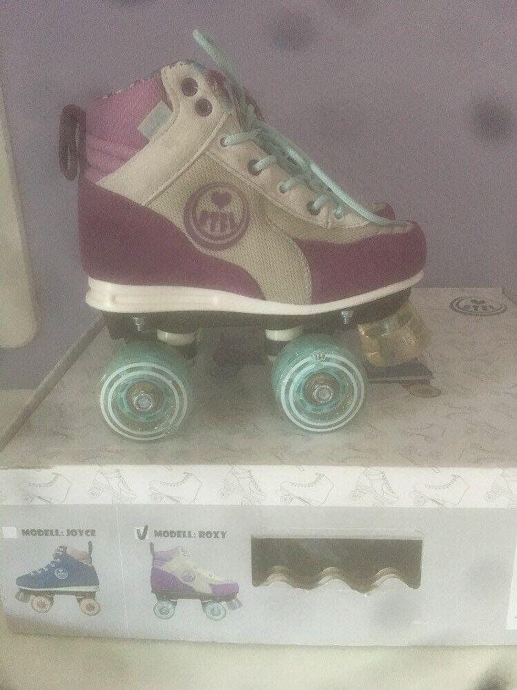 BTFL Roxy Rollschuhe Rollerskates Gr: 35 neu in Karton