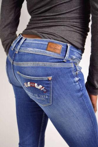 Slim Dames Bleu encoreIngenious Jeansdition Medium Pepe Nouveau Ici Fit trCQsxhd