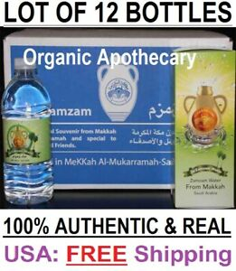 ZamZam-500ml-12-Bottles-Water-from-Mecca-Makkah-Saudi-Arabia-Zam-Zam-USA-SELLER