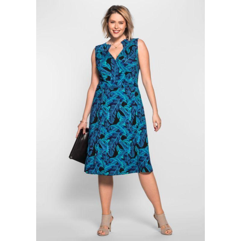 Designer Kleid Anna Scholz bei Sheego  Größe 52  NEU