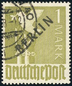 BERLIN-MiNr-17-VII-sauber-gestempelt-Fotobefund-Schlegel-Mi-1000