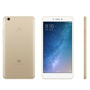 Xiaomi Mi Max 2 Dual SIM LTE 6.44 inch 4GB Ram 64GB Gold Ship from EU Nuevo