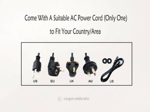 12V AC Adapter For QNAP TS-209 Pro Network Attached Storag Power Supply Charger