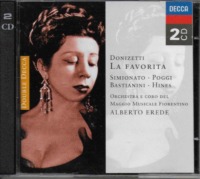 Donizetti - La Favorita (1996) - CD - 2 x discs - FREEPOST