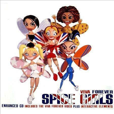1 of 1 - Viva Forever, Pt. 1 [UK] [Single] by Spice Girls (CD, Jul-1998, Virgin)
