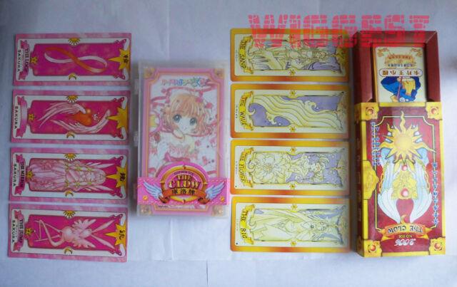 Cardcaptor Sakura Clow Cards 52 Set Cosplay Official CLAMP Tarot Card captor