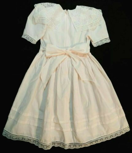 Gunne Sax By Jessica McClintock White Lace Dress … - image 1