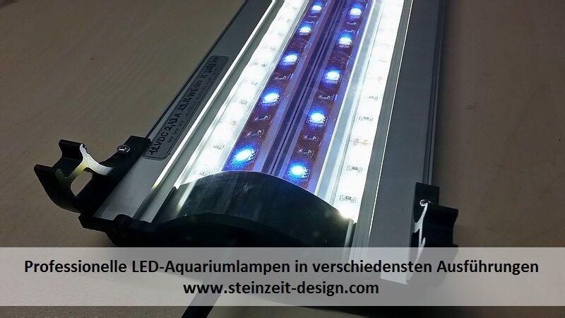 AQUARIUMBELEUCHTUNG   LED Aquarien Lampe SD-LDB4 Meer 2xweiß   2xblau 30-200cm