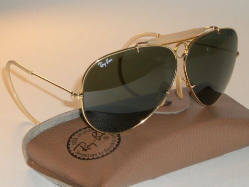 CIRCA 1980's VINTAGE B&L RAY BAN WRAP-AROUNDS CRYS