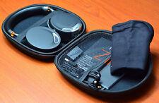 New Portable Hard Case Bag Box Pouch For Sony Headphone Earphone Headset Black