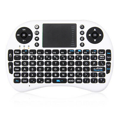 New Rechargeable 2.4GH Mini Wireless Keyboard Touchpad Mouse for Win7 Andriod EP