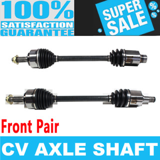 Compatible with 2000-2009 Chevy Impala Front Axle Shaft Set 2 Piece Set Excluding SS Models