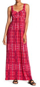 Tart Lynelle Maxi Dress Vivid Tie Dye Wave NWT