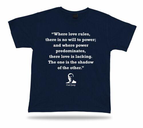 Carl Jung Popular Quote tshirt Gift Idea proverb BEST TEE Unique Design