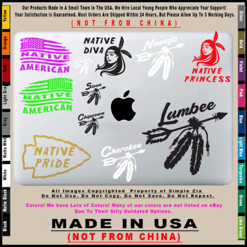 Details about  /Native American Arrow Lumbee sticker decal