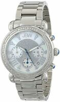 Jbw Jb-6210-d Women's Victory Pearl Diamond Chronograph 16 Diamonds Watch