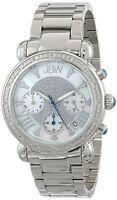 Jbw Jb-6210-d Women's Victory Pearl Diamond Chronograph 16 Diamonds Watch
