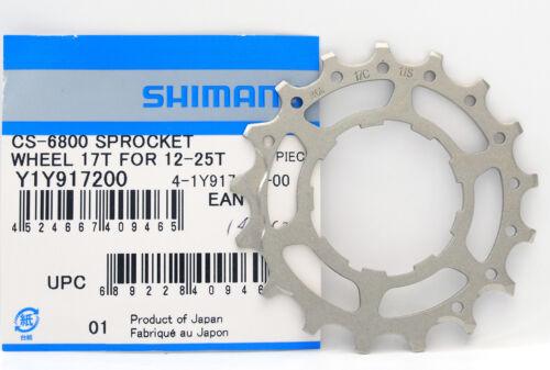 fits R9100//9000//5800 Shimano Ultegra CS-R8000//6800 17T Cog for 12-25T 14-28T