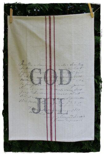 Torchon God Jul jute 65x45m by Soul of ARTEFINADanois Noël