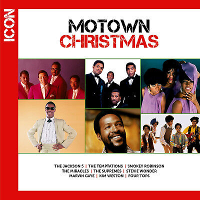 Temptations Christmas.Motown Christmas Cd Jackson 5 Temptations Marvin Gaye Supremes New Sealed 602537486625 Ebay