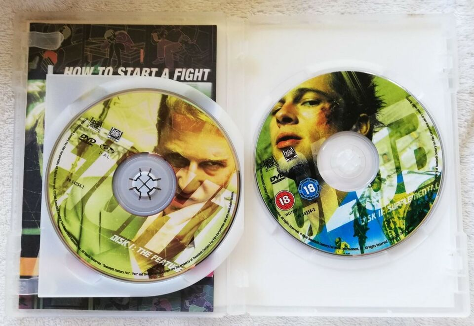 Fight Club, DVD, action