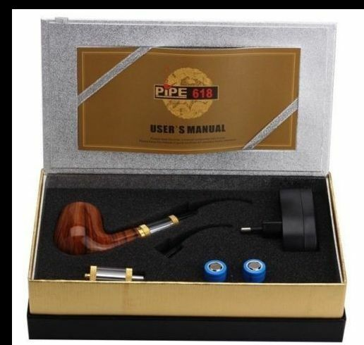 New US E Pipe 618 Vapo Solid Wood Design Old-fashioned Portable Starter Kit Hot