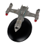 United Earth Starfleet NX-ALFA MODEL SHIP IN METALLO MODELLO DIECAST #84 NUOVO OVP