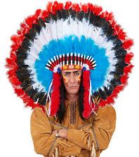 Maxi Indianerkopfschmuck Kiowa NEU - Karneval Fasching Hut Mütze Kopfbedeckung