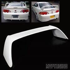 For 2002-2006 Acura RSX DC5 White Fiber Glass JDM Type-R Rear Trunk Spoiler Wing