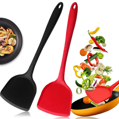 Non-stick Silicone Shovel Spatula Pizza Cookware Cooking Utensils Kitchen Tools