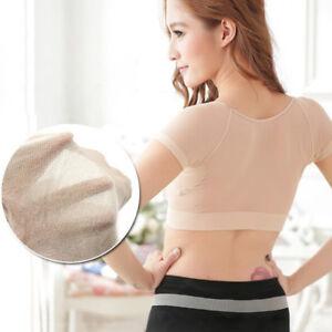 1X-Underarm-Sweat-Pad-Vest-Top-Armpit-Excessive-Perspiration-Menopause-Shiel-Z-z