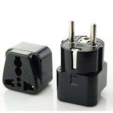Good Universal AU UK US to EU AC Power Socket Plug Charger Adapter Converter