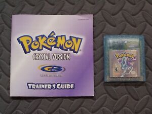 Pokemon Crystal Gameboy Game With Strategy Guide