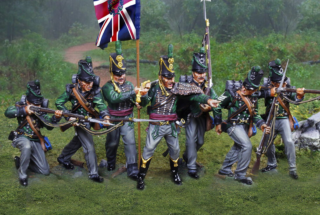 COLLECTORS SHOWCASE NAPOLEONIC BRITISH KLG KINGS GERMAN LEGION SET MIB
